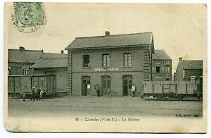 CPA-Carte-Postale-France-Lievin-La-Station-I10729