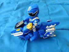 Power Rangers Heroes Blue Ranger /& Raptor Cycle Two-Pack