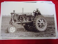 1938 Farmall Tractor Working In Field 11 X 17 Photo Picture