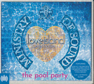 MINISTRY-OF-SOUND-Love-Island-Australia-The-Pool-Party-2CD-BRAND-NEW-Digipak