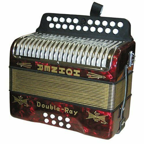 Hohner B//C button accordion lovely condition used