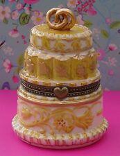 Villeroy & Boch - Wedding Cake Trinket/Ring Box * SAME DAY DESPATCH * FREE P&P