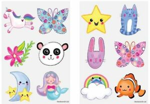 Super Hero Girls Temporary Tattoos Party Loot Bag Fillers Kids Boys Girls