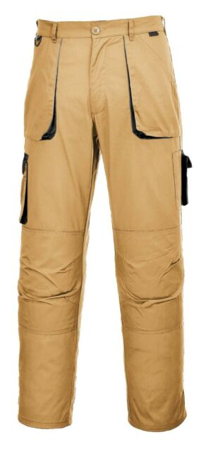 Other Personal Protective Equipment Able Workwear Contrast Trousers Portwest Elasticated Work Pants Texo Tx11 Kneepad