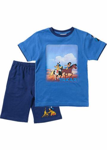 YAKARI Set für Jungen  NEU//OVP T-Shirt Sweatshorts blau 92//98