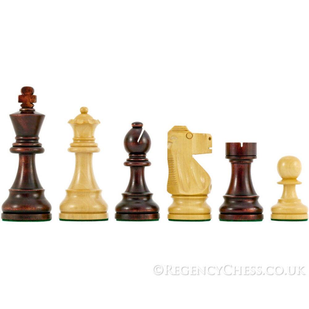 Antik Britisch Staunton Schachfiguren 9.5cm
