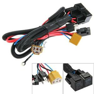 h4 9003 headlight booster wire harness connector relay. Black Bedroom Furniture Sets. Home Design Ideas