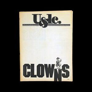 Enthousiaste U&lc (upper And Lower Case) Volume Eleven, Number 2, August 1984 RafraîChissement
