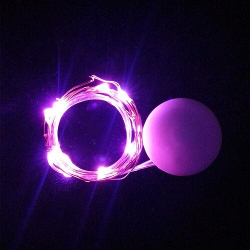 Dekorative Schnur-Licht Mini kleine LED Lampen Party Schmuck Batterie XJ
