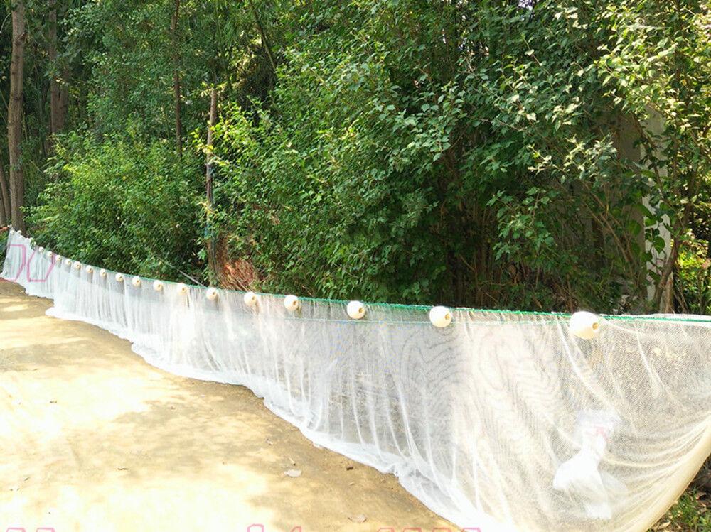 Personalizar Cebo Seine Drag Nets - 10x10mm o 5x5mm meshholes Nylon Fishing net