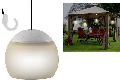 LED Gartenlampe Touch Lampe zum Hängen rund weiss Touchlampe Hänger 4 LEDs