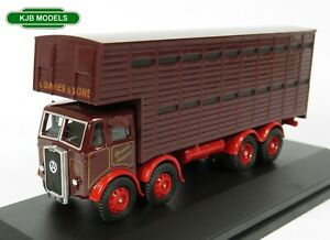BNIB-OO-GAUGE-OXFORD-1-76-76ATKL005-Atkinson-Cattle-Truck-L-Davies-amp-Sons-Lorry