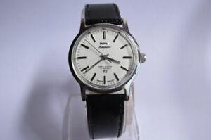 Vintage HMT Kohinoor 17 Jewels Hand Winding Mechanical Wrist watch 35 mm Dial