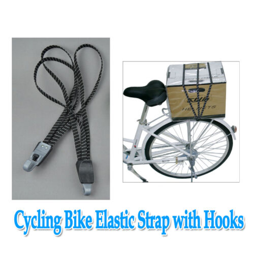 Bike Cycling Enhence Elastic Stretch Rope Bandages Strap with Hooks Luggage Cord