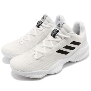 brand new 27bef 62fde Image is loading adidas-Pro-Bounce-2018-Low-White-Black-Men-
