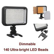 Pro Dimmable LED Continuous Light Lamp for DSLR Camera Lighting Video  Camcorder