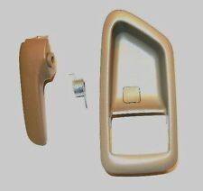 99-03 SOLARA BEIGE DRIVER TOYOTA INTERIOR INSIDE DOOR HANDLE REPAIR KIT W COVER