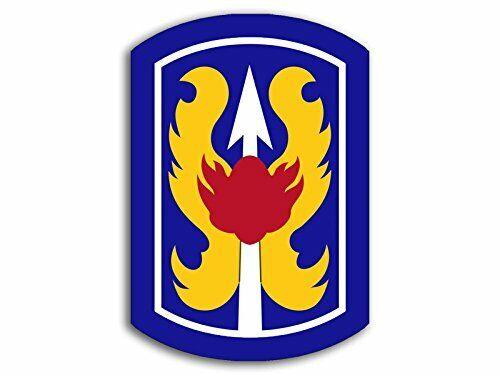 3x4 inch 199th Infantry Brigade Sticker Army Infantry Fort Benning Training