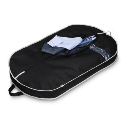 100 x 60 cm Hama 128804 Kleidersack für mehrere Kleidungsstücke Schwarz
