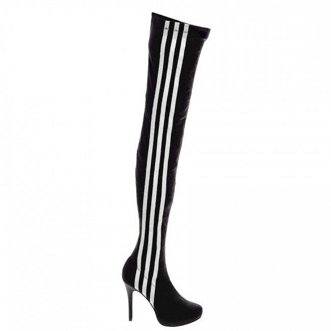 Adidas originali obyo jeremy scott, scarpe con tacchi alti scorte stivali super rare & scorte alti morte 5c976d