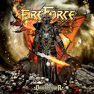 FIREFORCE-Deathbringer-CD-2014-Sticker-Mystic-Prophecy-Combat-Power-Metal