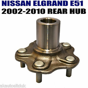 For NISSAN ELGRAND E51 2.5 3.5 REAR WHEEL HUB FLUNGE WITHOUT BEARING OE QAULITY
