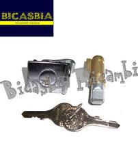 2056 - KIT SERRATURE STERZO BAULETTO 4 MM VESPA 125 150 SPRINT SUPER GT GTR GL
