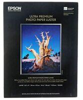 Epson S041405 Ultra Premium Photo (luster) Inkjet Paper 8.5x11 (50 Sheets)
