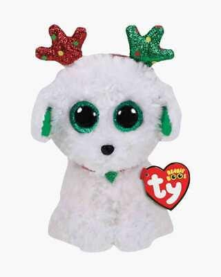 "2019 Ty Beanie Boos 9/"" Medium YIPS the Unicorn Chihuahua Dog Animal Plush MWMTs"