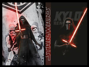 Fleecedecke-Kuscheldecke-Schmusedecke-Star-Wars-Kylo-Ren-The-Dark-Side-II