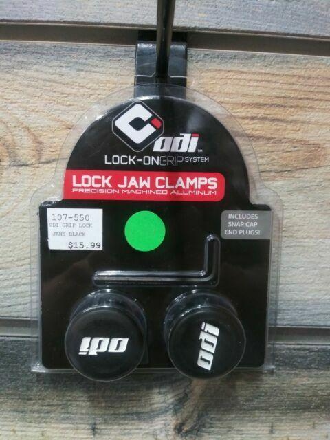 // Black 2 Pack ODI Lock-Jaw Grip Clamps