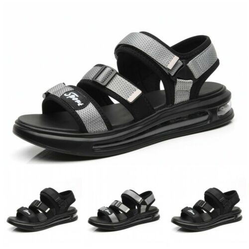 Fashion Mens Summer Slingback Sports Sandals Casual Outdoor Beach Shoes Soft L