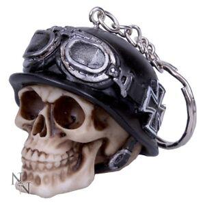 porte cl crane tete de mort casque biker motard lunette de moto iron cross ebay. Black Bedroom Furniture Sets. Home Design Ideas