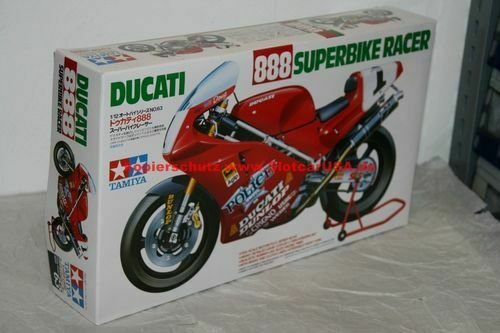 Tamiya 14063 1//12 Ducati 888 Super Bike Racer