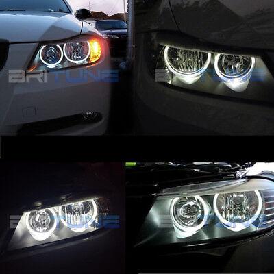 For BMW R Angel Eyes Halo Ring Marker 6000K White LED Light Bulbs E90 E91 in US