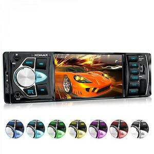 AUTORADIO-AVEC-BLUETOOTH-VIDEO-MONITOR-USB-SD-tagsID3-MP3-WMA-FM-CD-AUX-IN-1DIN