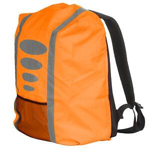 Proteccion-contra-la-lluvia-para-maleta-mochila-funda-protectora-reflector-un-lazo-lluvia-naranja