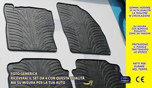 Tappetini Citroen C4 Spacetourer 2018> tappeti  in gomma auto su misura set grip