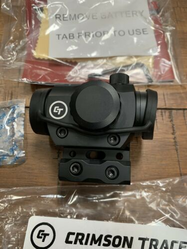 NEW Crimson Trace CTS-103 Compact Red Green Dot 4 MOA Rail Sight w// Mount