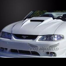 1994-1998 FORD MUSTANG BW3 SPYDER STYLE FUNCTIONAL RAM AIR HOOD(90 DAY WARRANTY)