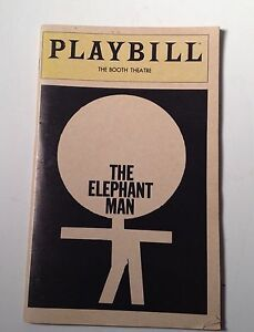 Playbill-The-Elephant-Man-Program-March-1981-Donal-Donnelly-Booth-Theatre