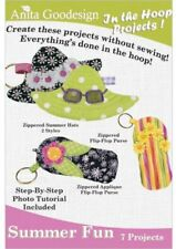 Summer Fun Anita Goodesign Embroidery Design CD 7 Projects
