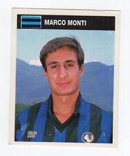 figurina CAMPIONI E CAMPIONATO 90/91 1990/91 numero 16 ATALANTA MONTI