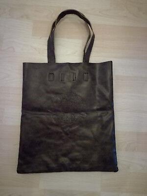 Damen Kunstleder Handtasche Shopper Bag Lederoptik