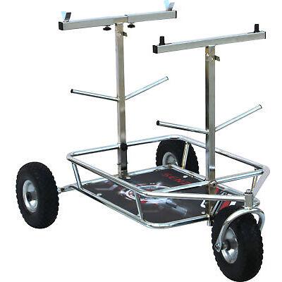 Senzo Chrome 3 Wheel Kart Trolley Go Kart Karting Race Racing