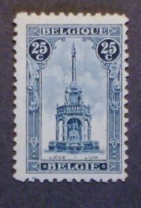 Belgium Stamp 123b Og Nh 18 5 X 28mm Mint Extremly Rare F Vf Ebay