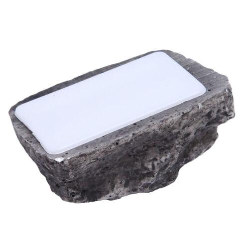 Muddy Garden Stone Case Box For Key Hide Storage Box Safe Outdoor Spare