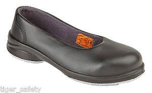 sicurezza S1p in Slip puntale nero Star campo del Himalayan Ladies 2213 scarpe di acciaio qYExBBP
