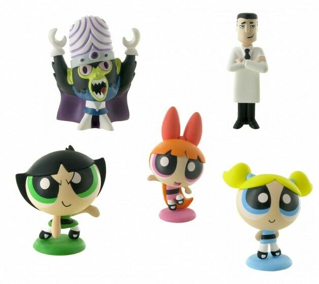 Comansi Official The Powerpuff Girls Toy Figure Cake Topper Toppers