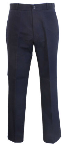 Mens Navy 60S 70S Retro Mod Vintage Sta Press Trousers